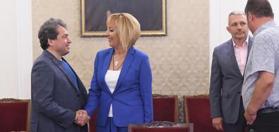 Мая Манолова: Сигурна съм, че ще има правителство (ВИДЕО)