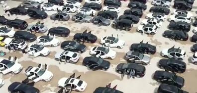 Огромни щети след наводненията в Китай