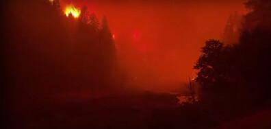 Евакуация в Калифорния заради големи горски пожари (ВИДЕО)