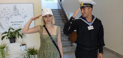 Мария Бакалова става кръстницата на кораб (СНИМКИ)