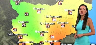 Прогноза за времето (19.09.2021 - обедна)