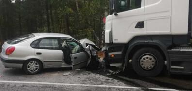 Две жертви и двама тежко ранени при катастрофа в Благоевградско