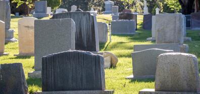 Откриха полузаровено бебе на гробище