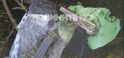 Откриха оръжието, използвано при грабежа в Елин Пелин