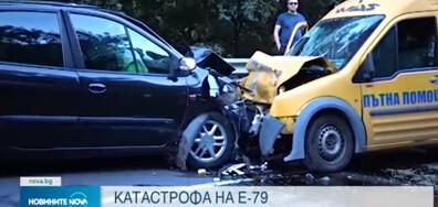 Двама пострадали при катастрофа край Симитли (ВИДЕО)