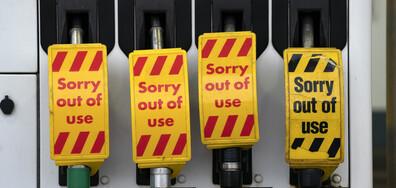 Схватка между шофьори на опашка за гориво във Великобритания (ВИДЕО)