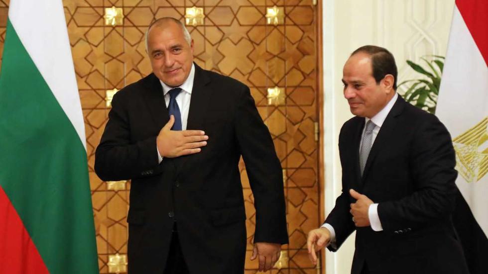 БОРИСОВ В ЕГИПЕТ: София и Кайро ще си сътрудничат в сигурността