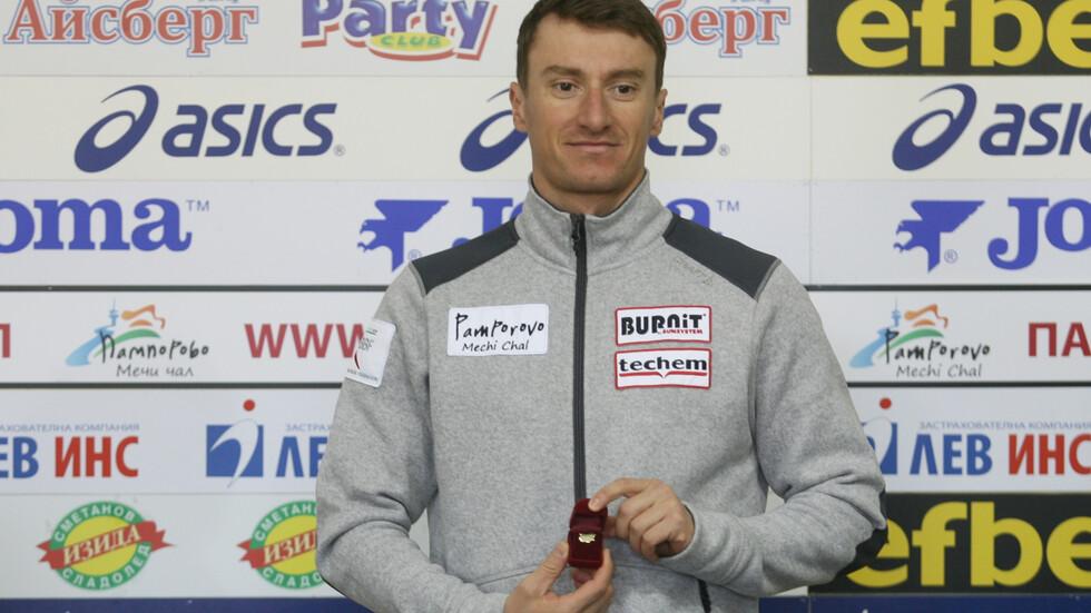Красимир Анев: Отдавна исках да грабна златото