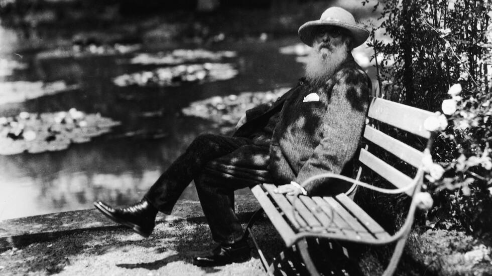 Френският импресионист, сниман през 1910 г. Снимка: Getty Images