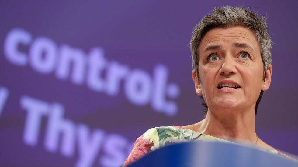 Eврокомисарят за борба с тръстовите практики Маргрете Вестагер. Снимка: БГНЕС, архив