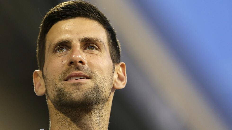 Novak Djokovic infected with COVID-19 - NOVA