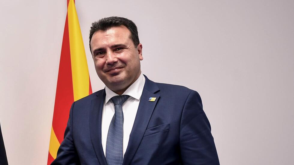 Делегация от Северна Македония, водена от Заев, пристига у нас