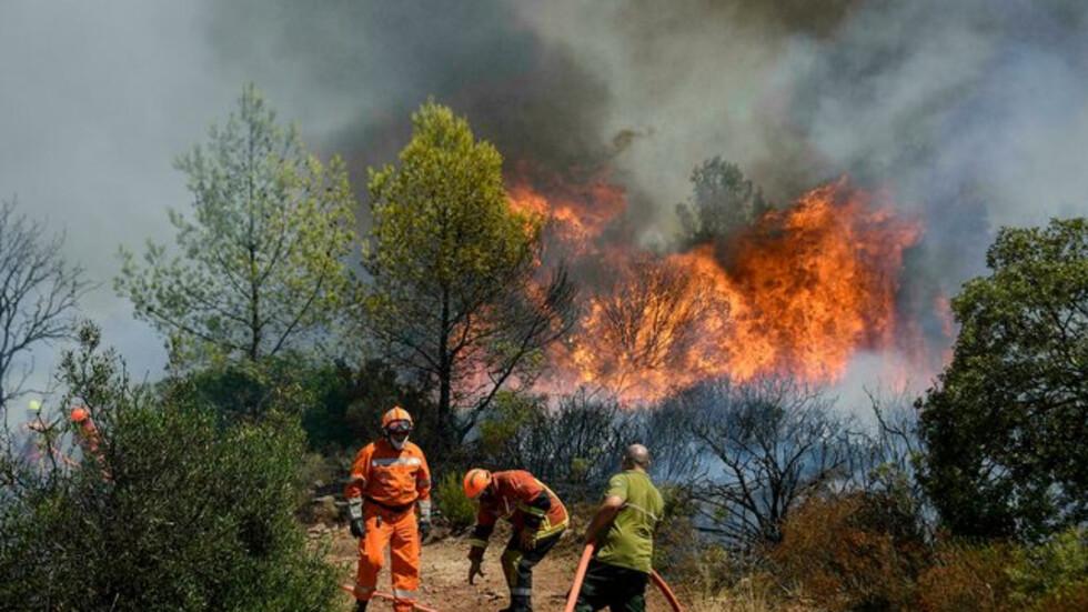 Дъждът помогна да бъде потушен пожарът над Югово