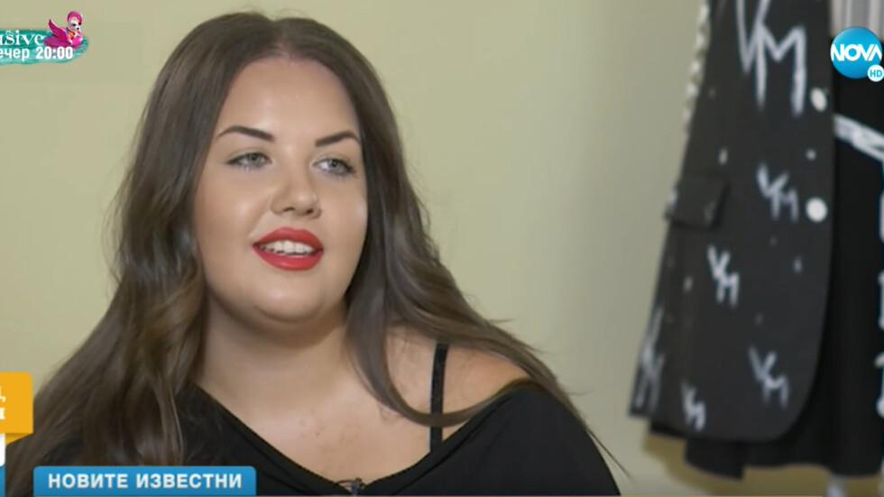 """""""НОВИТЕ ИЗВЕСТНИ"""": Веселка Маринова - от притеснително момиче до модел със самочувствие"""