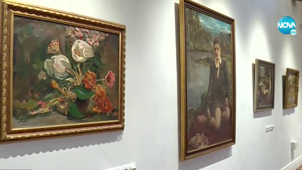 """Откриват изложбата """"Избрани творби от частни колекции"""" (ВИДЕО)"""
