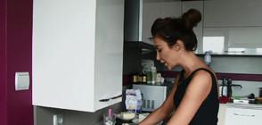 """Екстремно готвене с Моника Валериева в """"Черешката на тортата"""""""