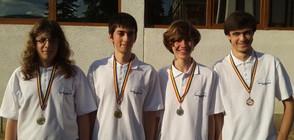Отборът ни по информатика се връща от олимпиадата с 4 медала