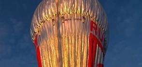 Руснак обиколи света с въздушен балон