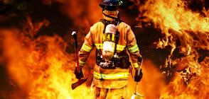 Три пожара горят в Пловдивско