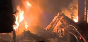 Шофьорът на изгорелия тир: Огънят тръгна от двигателя
