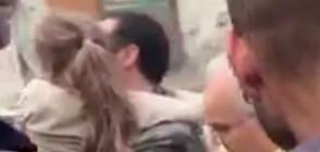 Извадиха живо момиченце изпод развалините в Италия (ВИДЕО)