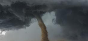 Мощно торнадо почти отнесе цял руски град (ВИДЕО)