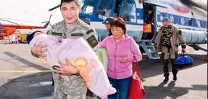 3-годишно дете оцеля три дни в сибирската тайга (СНИМКИ)