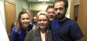"""Почитателка на """"Откраднат живот"""" пристигна от Германия за снимките на сериала"""