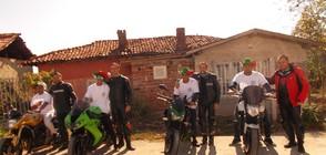 Мотористи в ромския квартал на Кюстендил