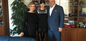 Красен Кралев се срещна с Цвети Стоянова (СНИМКА)