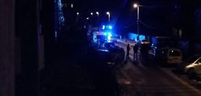 Взрив пред офис в столицата (ВИДЕО)