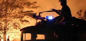 В ПЛАМЪЦИ: Пожар изпепели десетки къщи в Монтанско (ВИДЕО)