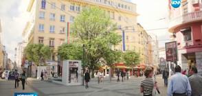 Центърът на София сменя облика си през лятото