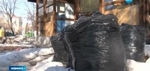 СЛЕД СНЕГА: Затоплянето дойде с купища боклуци и нови дупки (ВИДЕО)
