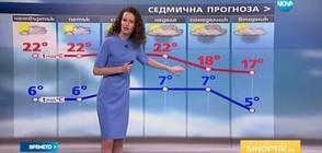 Прогноза за времето (23.03.2017 - обедна)