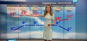 Прогноза за времето (13.04.2017 - обедна)