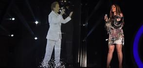 """ДесиСлава си партнира с холограма за латино дует в """"Като две капки вода"""""""