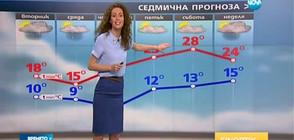 Прогноза за времето (09.05.2017 - обедна)