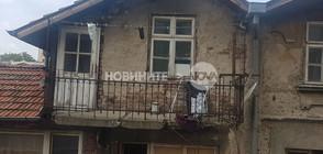 Тераса се срути в центъра на София, жена пострада (СНИМКИ)