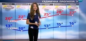 Прогноза за времето (28.05.2017 - обедна)