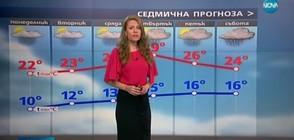 Прогноза за времето (29.05.2017 - обедна)
