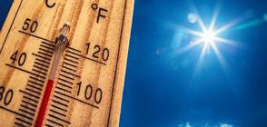 ОПАСНИ ЖЕГИ: Жълт код за екстремно топло време