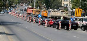 "ТАПА В СОФИЯ: Задръстване заради ремонта на ""Орлов мост"" (ВИДЕО)"