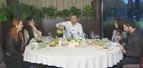 """Вечеря за шампиони с Тервел Пулев в """"Черешката на тортата"""""""