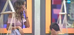 """Александра каза """"Дa"""" на предложението за брак на Дани във VIP Brother"""