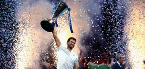 ЕУФОРИЯ СЛЕД ПОБЕДАТА НА ГРИШО: Хиляди фенове подкрепиха българския тенисист (ВИДЕО)