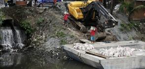 Тропическа буря остави хиляди без ток във Филипините (ВИДЕО)