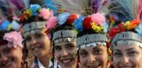 Дефиле по носии: Танцът като страст