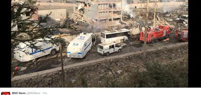 Експлозия в Турция, има жертви и много ранени (ВИДЕО+СНИМКИ)