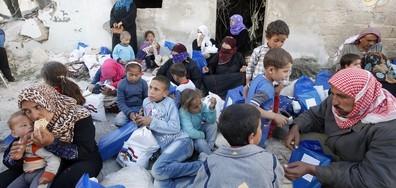 САЩ отпускат 365 млн. долара допълнителна помощ за Сирия